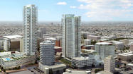 Council committee OKs shorter Hollywood Millennium towers