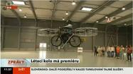 Flying bicycle: Commuting's future?