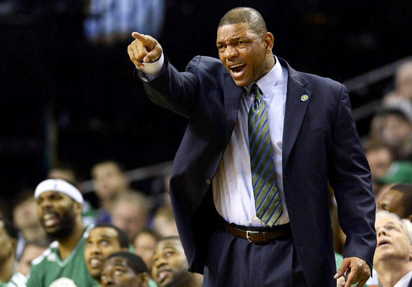 Doc Rivers looks to be staying in Boston to coach the Celtics for a 10th season.