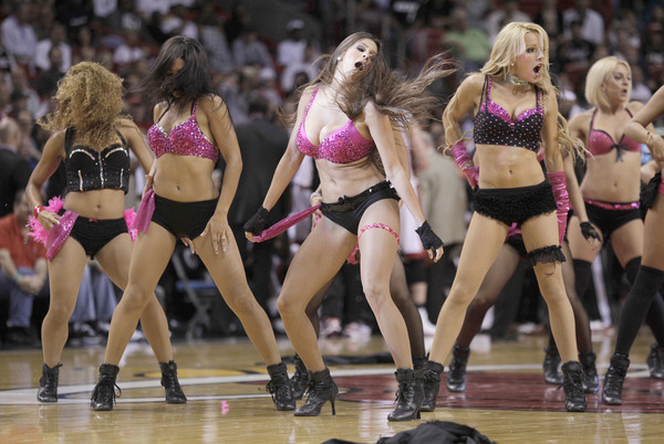 <b>Photos:</b> Miami Heat Dancers in action - Grizzlies vs. Heat