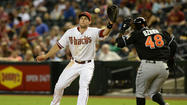 <strong>PHOENIX</strong> Giancarlo Stanton lit up Chase Field Monday night with his two-homer game in a Marlins' victory. Paul Goldschmidt on Tuesday reminded everyone it's still his house.