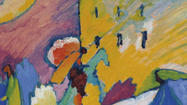 A painting by Wassily Kandinsky has sold for $21.2 million at a Christie's auction of Impressionist and Modern works of art in London. The auction on Tuesday brought in a hefty total of $100.4 million, but the sale lacked any major surprises.