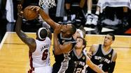 Game 6: LeBron James, Boris Diaw