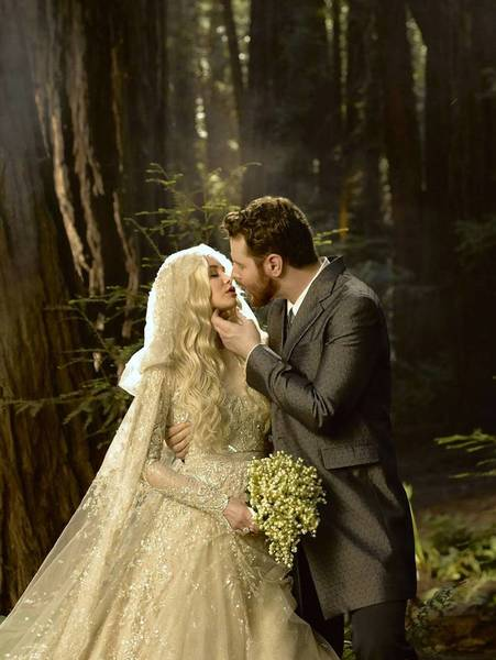 Sean Parker and Alexandra Lenas were married June 1 in a Big Sur ceremony that raised the ire of the California Coastal Commission.