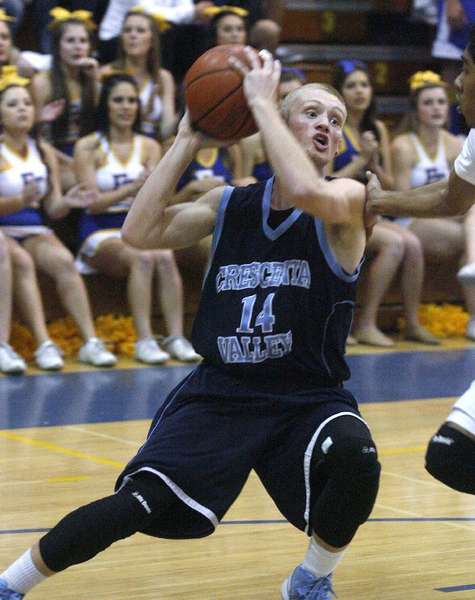 ARCHIVE PHOTO: Crescenta Valley High's Cole Currie has committed to play basketball for Tulane University next season.