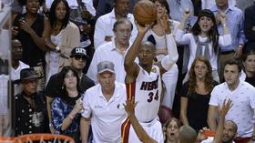 NBA Finals: Now that's a big three — Ray Allen delivers, Heat wins