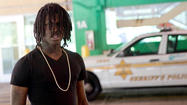 Rapper leaves court in Skokie