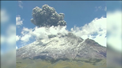 Volcano erupts near Mexico City [Video]
