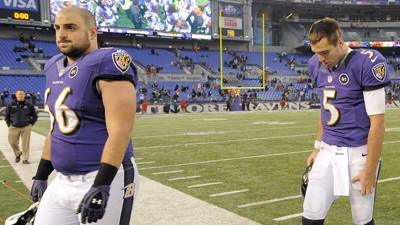 Joe Flacco, Ravens confident in Gino Gradkowski
