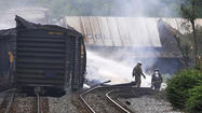 Rosedale train derailment leads to suit against truck driver