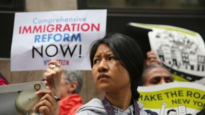 Senate immigration bill could slash federal deficit, report says