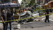Car Crashes Into Manhattan Storefront