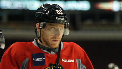 Blackhawks' Hossa absent from morning skate