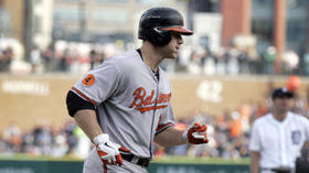 Chris Davis will DH, Travis Ishikawa gets start at first vs. Tigers
