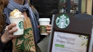 Starbucks drinkers may want to cover their eyes the next time they order that Venti double caramel frappuccino, extra shot of caramel, extra whip. The company has announced it will start posting its calorie counts on menus nationwide June 25.