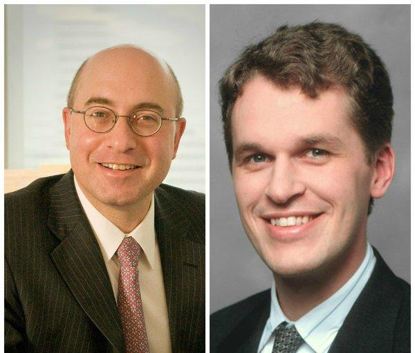 Steven Berns (L) has joined Tribune Co. as executive vice president and chief financial officer. Current CFO Chandler Bigelow has been named executive vice president/chief business strategies and operations officer.
