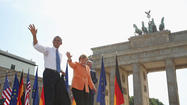 President Obama in Germany