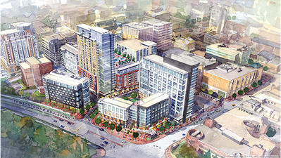 Baltimore County announces $300 million Towson Row development