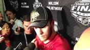 Video: Toews sticks up for Hossa