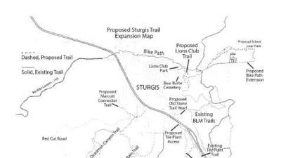 Sturgis lends support to Black Hills Trails project