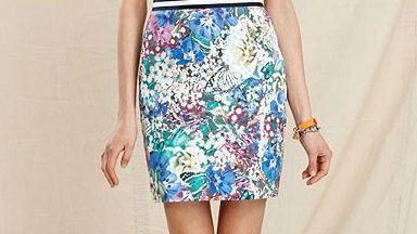 Working colorful skirts into a professional wardrobe