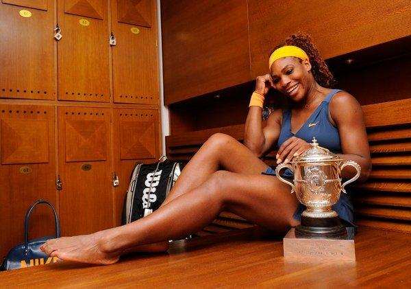 Serena Williams is the top-seeded woman at this year's Wimbledon.