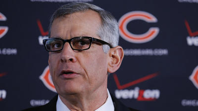 Bears' Emery emphasizes analytics with new hire
