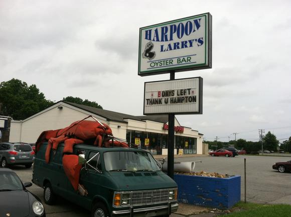 Harpoon Larry's moving to