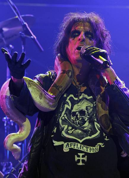 Alice Cooper performs Friday at Mohegan Sun.