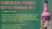Chocolate peanut butter banana ale