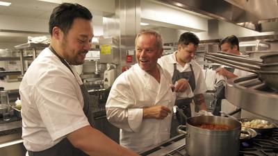 Wolfgang Puck, Roy Choi and David Chang cook a meal to 'shock' diners