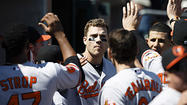 Davis hits 2 homers and Teagarden also goes deep as Orioles crush Tigers, 13-3