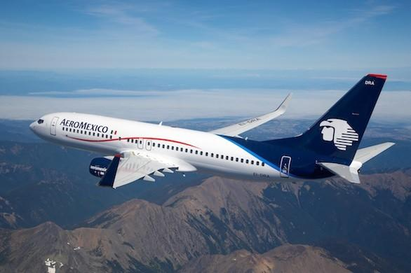 AeroMexico 737-800s will be branded with AeroMexico Contigo when the service launches in October.