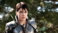 "Antje Traue plays Faora-Ul in ""Man of Steel."" (Clay Enos / Warner Bros)"