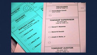 Municipal primary ballots