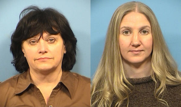 Linda Lynch (left) and Andrea Arndt have been found not guilty of forgery.