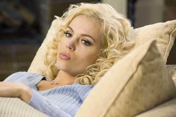 "Agnes Bruckner stars in the new Lifetime movie ""Anna Nicole."""