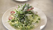 Nancy Silverton's salad with Parmigiano-Reggiano and anchovy