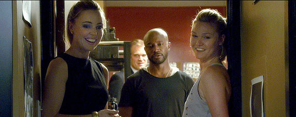 "Melissa George, David Harbour, Taye Diggs and Julia Stiles in ""Between Us."""