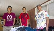 Three broke Costa Mesa high school students used their bleak circumstances to start a business at the beginning of the school year — Penniless Clothing Co.