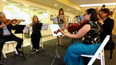 Sentara brings music and medicine together