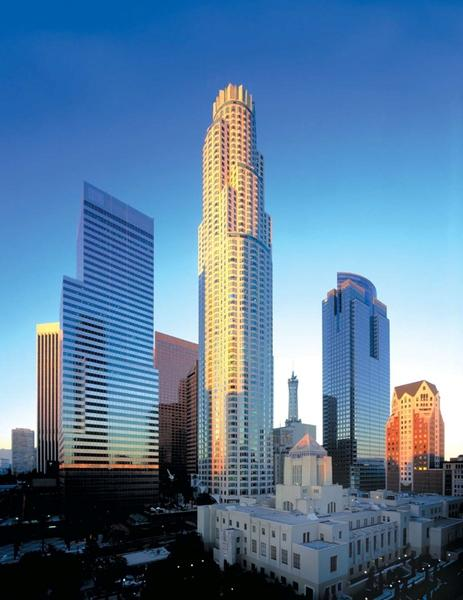 U.S. Bank Tower in downtown Los Angeles is the tallest building in the West.
