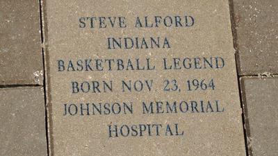 UCLA's Steve Alford honored with brick: Is this how to treat a shooter?