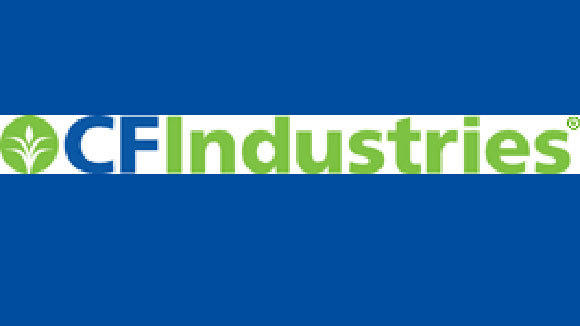 A screen grab of the CF Industries logo.