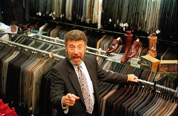 "George Zimmer, who founded Men's Wearhouse four decades ago, had starred in its commercials since 1985. He always intoned in his gravelly voice, ""You're going to like the way you look. I guarantee it."""