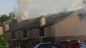 Fire forces west Wichita apartment complex to evacuate