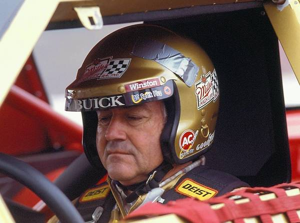 Bobby Allison, seen here in his last ride as a NASCAR driver, was in coma for six weeks following a first-lap crash with Jocko Maggiacomo in the Miller High Life 500 on June 19, 1988 at Pocono Raceway.