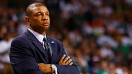 The talks that resumed between the Clippers and Boston Celtics on Wednesday are expected to resume again Thursday for Coach Doc Rivers and Kevin Garnett to come to Los Angeles, said league officials who weren't authorized to speak publicly on the situation.
