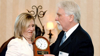 Former president of United Way of Washington County board earns highest volunteer honor