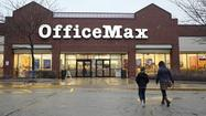 OfficeMax Inc. is seeking economic incentives to retain its corporate headquarters in Naperville once the office supply retailer completes its merger with rival Office Depot Inc.